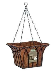 Gardman 14-inch Gothic Square Hanging Basket