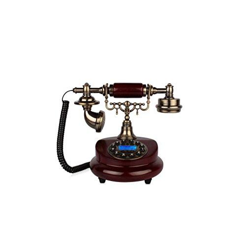 Telefono antico europeo Retro Style letto Camera da letto casa Console Vecchio piano della vernice di composizione del telefono vivavoce