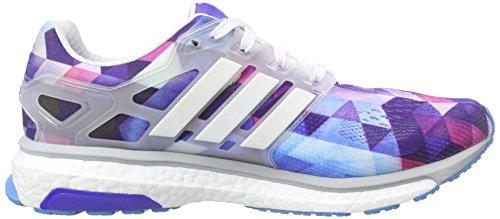adidas Energy Boost ESM Herren Laufschuhe Blau (Ftwr White/Zero Met./Solar Blue2 S14)
