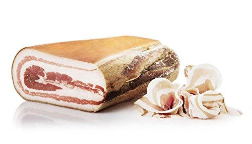 Pancetta Steccata Legno, Zwischen Holz Gefalteter Bauchspeck, stück, Salumi Pasini, 500 gr