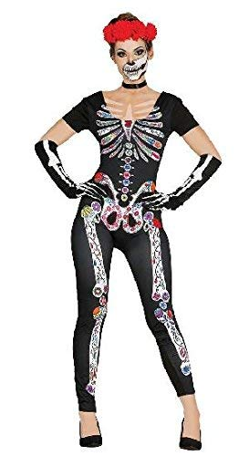 Guirca 84436 - Mexican Skeleton Adulta Talla M-L 42-44