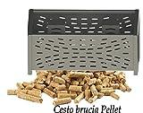 cesta para quemar pellets 30para chimeneas y estufas