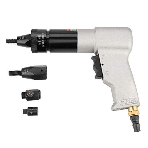 Pneumatischer Nietapparat, pneumatisches Nietwerkzeug Überwurfmutter Automatisches Luftnietapparat-Überwurfmutter-Werkzeug für das Nieten in der Fertigungsindustrie(M8/M10)