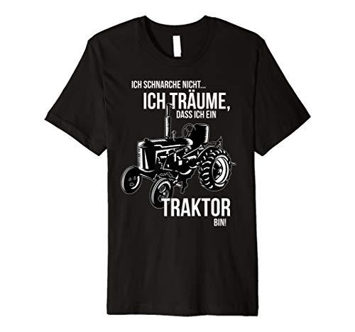 Ich schnarche nicht ich träume dass ich ein Traktor bin