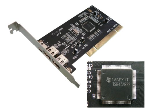 pci-firewire-400-card-ieee1394a-texas-instruments-ti-single-chipset