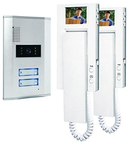 Smartwares-Video-Trgegensprechanlage-fr-2-Teilnehmer-VD62-SW