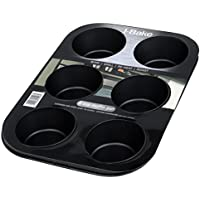 I-Cook 6-Cup Deep Muffin Pan Non Stick
