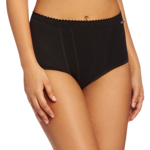 sloggi-control-maxi-2-pack-high-rise-womens-briefs-black-size-14