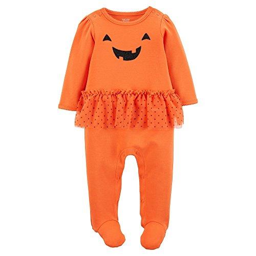 ler mit Tutu Rock Halloween Kürbis Smily Gesicht Orange (62) (Gesichter Für Halloween-kürbis)