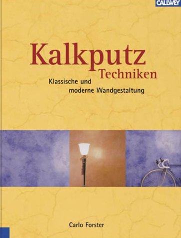 Kalkputz-Techniken.