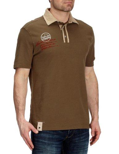 Murphy & Nye Herren Shirt/ Poloshirt 6N9801-PQ9031-E03120-L01167, Gr. 46/48, Grün (E03120)