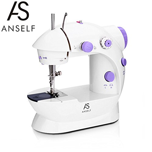 Anself Mini Sewing Machine Household 2 Speed...