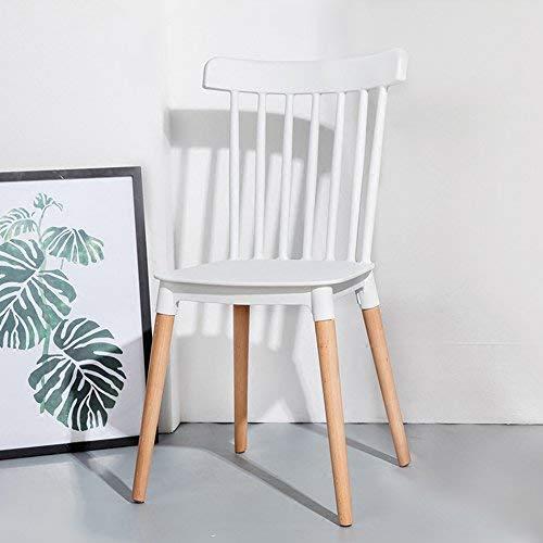 SED Stuhl - Kunststoff Stuhl Make-up Hocker Restaurant Wohnzimmer Barhocker Bar Cafe Blume Shop Hocker Backen Farbe Sitz Club Stuhl drehen Creative Stuhl Adult Home Hocker,Weiß -