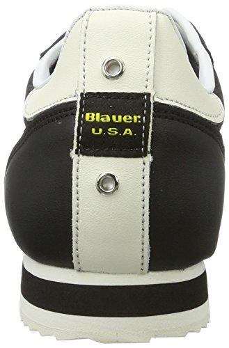 Blauer USA Herren Bowling Low-Top Schwarz (Black)