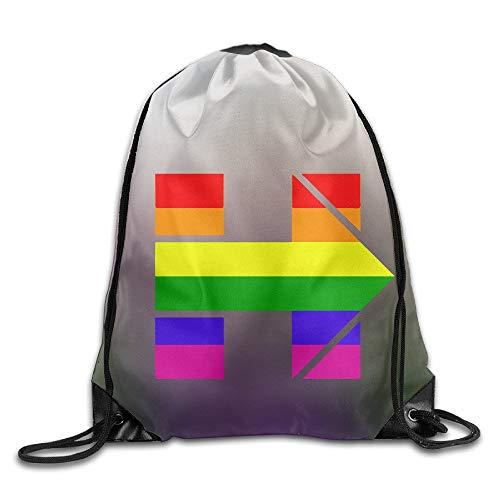 rtuuruyuy Hillary Clinton Support LGBT Stylish School Tasche Tunnelzug
