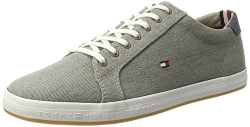Tommy Hilfiger H2285owell 1d2, Sneakers Basses Homme Gris (Light Grey 007)