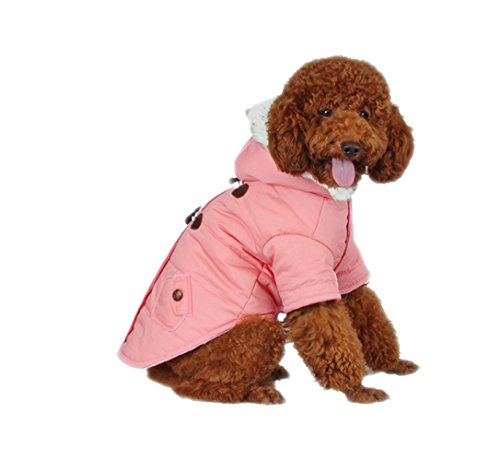 Dog Kostüm Wonder (unihubys 2016 Fashion Hund Kleidung für Winter Hundemantel Dog Hoodies)