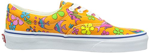 Vans U Era, Baskets mode mixte adulte van doren orange