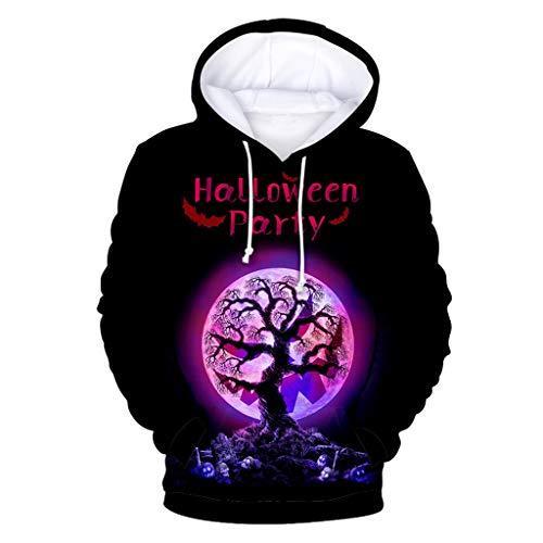 Medizin Mann Kostüm - Geilisungren Unisex Halloween Kostüm Hoodie 3D Kürbis Gedruckt Sweatshirt Tasche Kapuzenpullover Festlich Große Größen Kapuzenpulli Jumper für Liebespaar Damen Herren Jugendliche