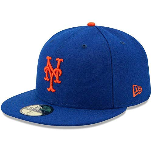 New Era New York Mets Authentic 59FIFTY Fitted MLB Cap Game, 7 3/8