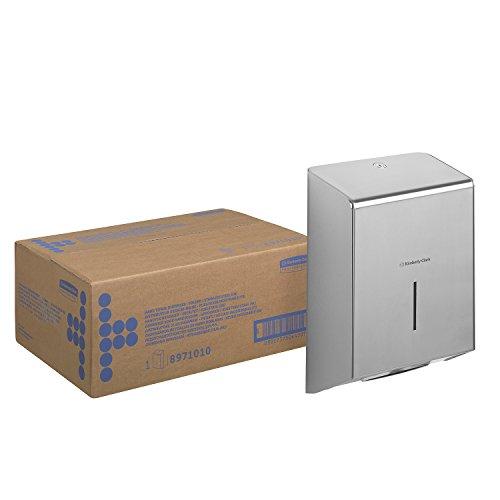 Kimberly-Clark 8971 Dispensador de Toallas Secamanos, Acero Inoxidable