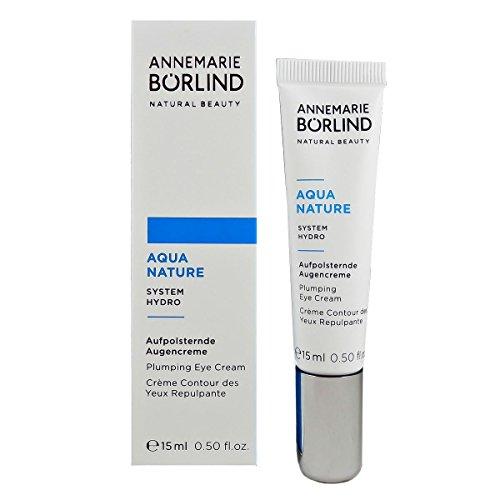 Annemarie Börlind Aquanature Aufpolsternde Augencreme, 1er Pack (1 x 15 ml)