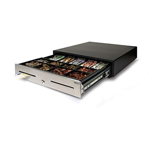 Safescan HD-4646S - Heavy-Duty Kassenlade (46 x 46 cm) - Silber-münze Lagerung