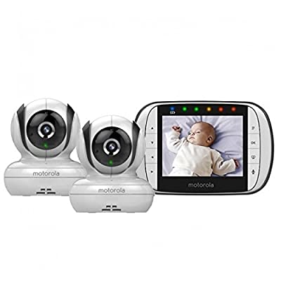 Motorola MBP36S - 2 Camera Video Baby Monitor