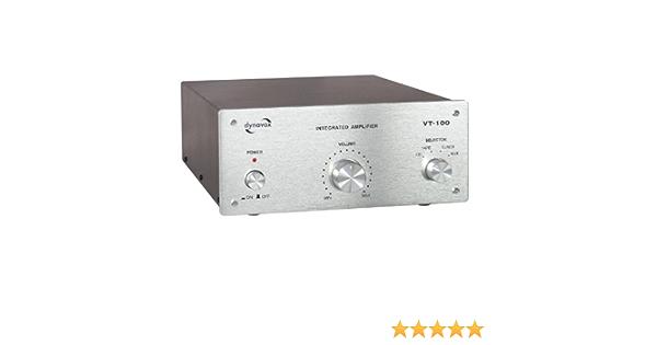Dynavox Vt 100 Silber Audioverstärker 0 1 95 Db 60 W 20 50000 Hz 300 Mm 220 Mm Audio Hifi