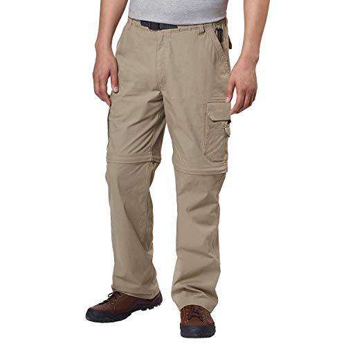 BC Clothing Herren Cargohose, leicht, bequem, dehnbar, Herren, Khaki Tan, XX Large x 34L -