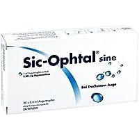 Preisvergleich für Sic Ophtal sine Augentropfen Augentropfen 30X0.6 ml