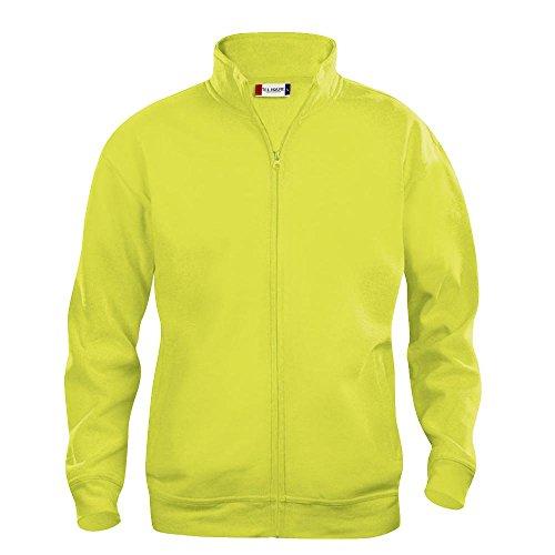 Clique - Herren Basic Sweatjacke Gelb