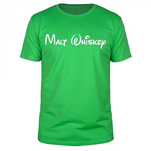 FABTEE - Malt Whiskey - Herren T-Shirt verschiedene Farben, Größen S-5XL Schwarz