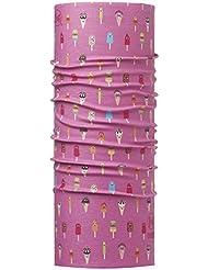 Original Buff Gelatto Pink - High UV Protection para niños de 3-9 años, diseño estampado