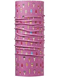 BUFF ENFANT Foulard multifonctionnel haute protection UV GELATTO PINK, Gr.50-55