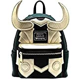 Loungefly Avengers Loki simili cuir Mini Standard Sac à dos