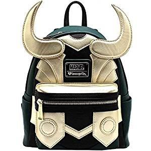 Loungefly Vengadores Loki IMITACIÓN CUERO mini mochila Standard