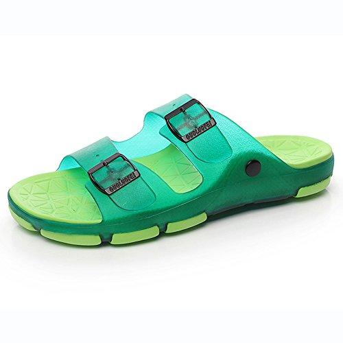 Estate Sandali Estate femmina antiscivolo Coppie sandali scarpe da spiaggia Pantofole da bagno indoor da bagno Bagno Massaggi Scarpe da 5 colori Colore / formato facoltativo #4