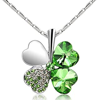 Ardisle Halskette & Irish Shamrock Anhänger Charme Saint ST PATRICKS DAY Geschenk 3Leaf Clover
