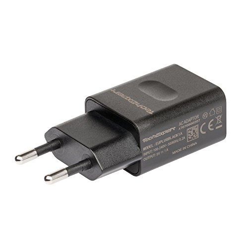 Chargeur Secteur vers USB Noir pour iPhone 5 5S 5C Se, iphone 6 6S 6Plus 6SPlus, iPhone 4 4S, iPhone 3GS/3G, iPod Touch, Galaxy S 1 à 7, Galaxy Note 1 à 6