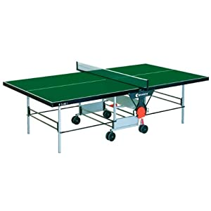 Sponeta Tisch S3-46i einschl. Netz, St, grün