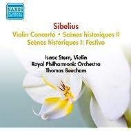 Sibelius, J.: Violin Concerto / Scenes Historiques Ii (Stern, Beecham) (1950-1952)