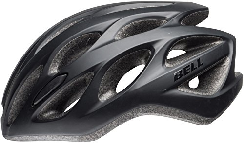 Bell Unisex- Erwachsene Tracker R Fahrradhelm, mat Black, Unisize