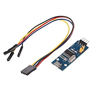 COLUDOR Mini L2303 USB UART Board PL-2303HX PL-2303 USB TO RS232 Serial TTL Module Adapter Converter