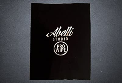 Abelli Studio Pro Wipe Guitar Cleaner Cleaning Micro Fibre Polishing Cloth