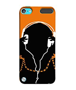 Fuson Designer Back Case Cover for Apple iPod Touch 5 :: Apple iPod 5 (5th Generation) (Young Male Female Boys Girls Students Clipart )