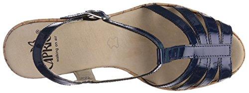 Caprice  28354, Sandales pour femme Bleu - Blau (OCEAN PATENT/899)