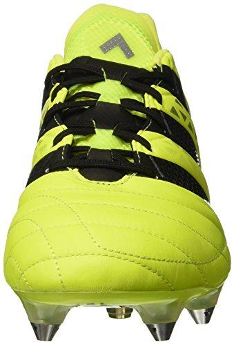 adidas Ace 16.1 SG Leather, Scarpe da Calcio Uomo, Giallo ...