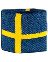 Digni® Poignet éponge avec drapeau Suède