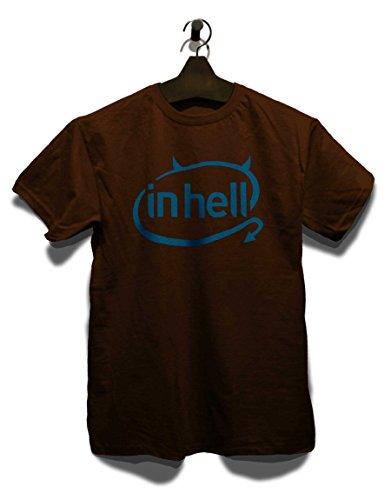 In Hell Logo T-Shirt Braun